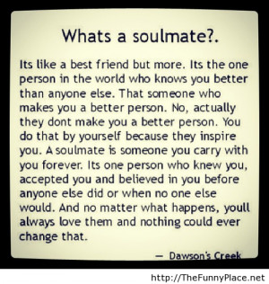 +quote.+Soulmate+definition+with+quote+http+thefunnyplace.net+quotes ...