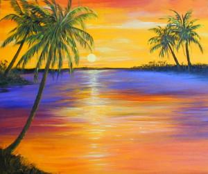 Art Prints of Key West Sunset Paintings