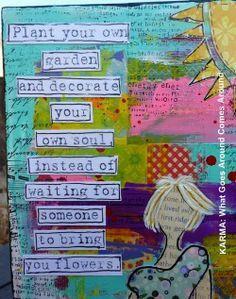 Inspirational #quote. #divorce. #trashthedress #flowers | best stuff