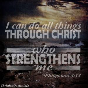 Philippians 4:13 – Strength