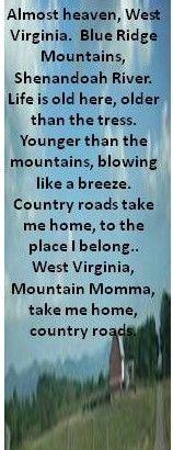 Aunt Carol Aunts Carol, John Denver Quotes, West Virginia, John Denver ...