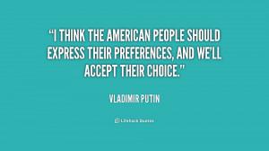 Putin Quotes On America