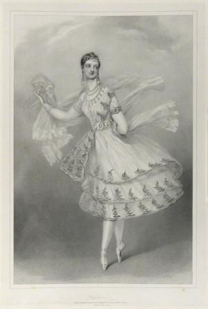 Marie Taglioni, by Richard James Lane, printed by Graf & Soret ...