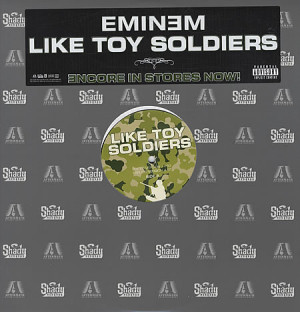 EMINEM Like Toy Soldiers (2004 US 4-mix vinyl 12
