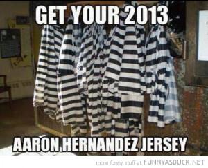 prison uniform 2013 aaron hernandez funny pics pictures pic picture ...