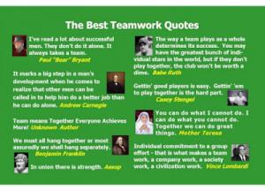 Quotes Regarding Teamwork ~ Inn Trending » Quotes Regarding ...