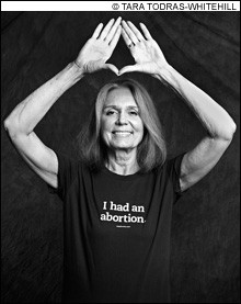 GLORIA STEINEM: The pioneering feminist is