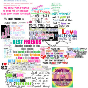 Best Friends till the End Quotes