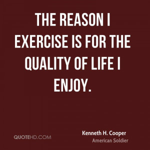 Kenneth H. Cooper Fitness Quotes
