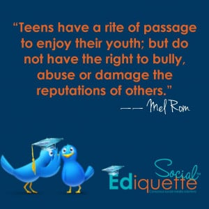 Teens and their 'Rite of Passage'