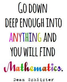 Math = Love: Free Mathematical Quote Posters More
