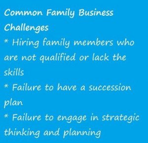 Common Family Business Challenges
