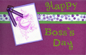 ... with these happy boss day cards to recognise and appreciate your boss