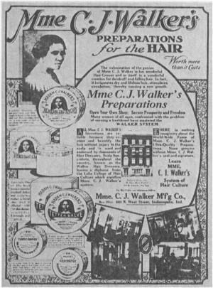 Black Women in Beauty Series: Madame C. J. Walker