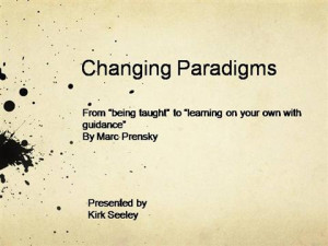 Quotes About Paradigm Shift Picture