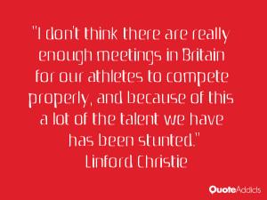 Linford Christie
