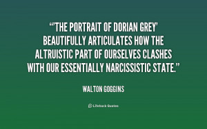 The Portrait of Dorian Grey' beautifully articulates how the ...