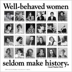 ; Billie Jean King; Zora Neale Hurston; Margaret Sanger; Alice Paul ...