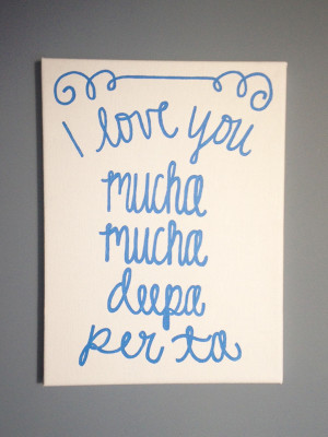 Love You Grandma Quotes I love you painting