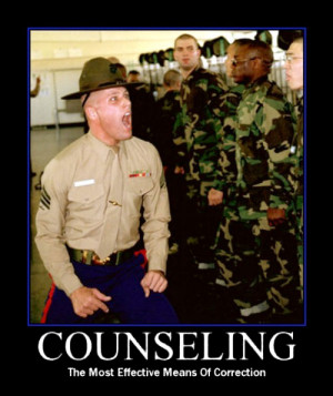 ... it does, but we are absolutely sure he shouldn't have it. Counseling
