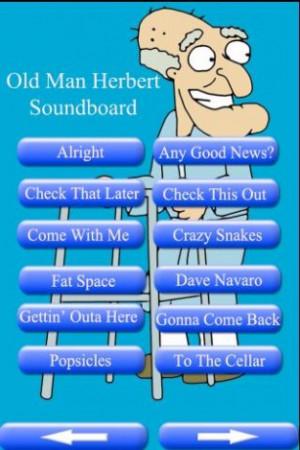 Old Man Herbert Soundboard Screenshot 2