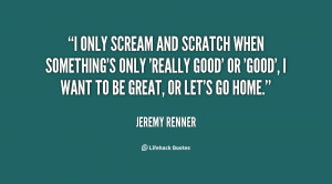 Want To Scream Quotes