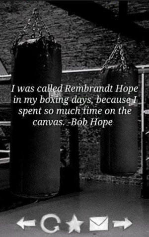 Boxing Quotes - Excellent quotes about boxing!