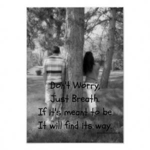 Love Will Find its Way Quote Poster