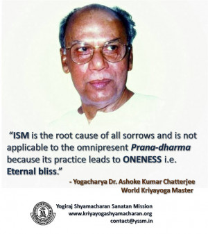 Lahiri Mahasaya Quotes Mahasaya on isms,