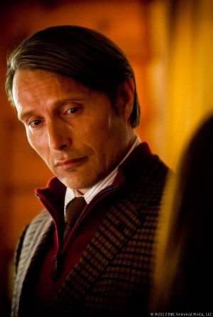 Mads Mikkelsen as Dr. Hannibal Lecter, a brilliant forensic ...