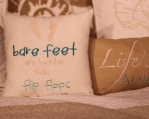 bare feet better ff – Beach House Linens