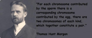 Thomas hunt morgan famous quotes 1
