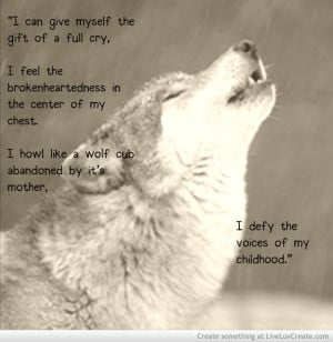 Quotes About Wolves Howling