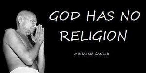 Gandhi Quotes No God