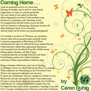 Caren's Volunteering Poem