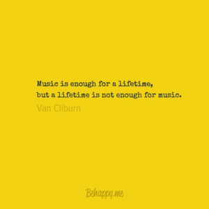 van cliburn quoting famous composer Sergei Rachmaninoff