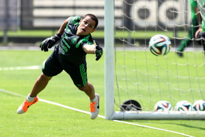 Mexican national soccer team´s player Javier 'Chicharito' Hernandez ...