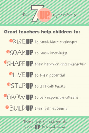 Displaying 17> Images For - Cute Teacher Quotes For Kids...