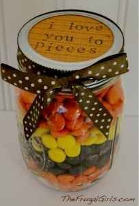 Jars: Reese Pieces, Christmas Ideas For Boyfriends, Gifts Jars, Pieces ...