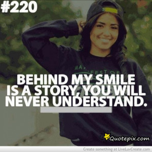 love # quote # behind my smile # understand # smile # story # life ...