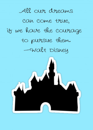 castle and quote Mickey Mouse Love Quotes