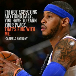 quote from nba player carmelo anthony he has been the nba scoring