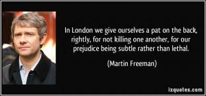More Martin Freeman Quotes