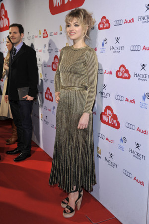 Imogen Poots attends the Zurich Premiere of 39 A Long way down 39 at ...