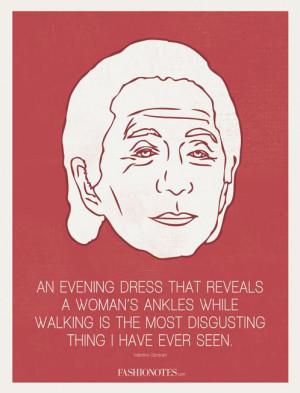 Um recadinho de Valentino sobre seu vestido longo