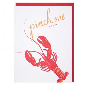 Lobster Love Lobster love card