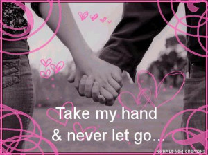 Myspace Graphics > Love > take my hand Graphic