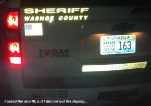 funny sheriff