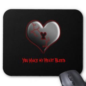 Emo Bleeding Broken Heart...