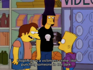Funny Bart Simpsons Quote